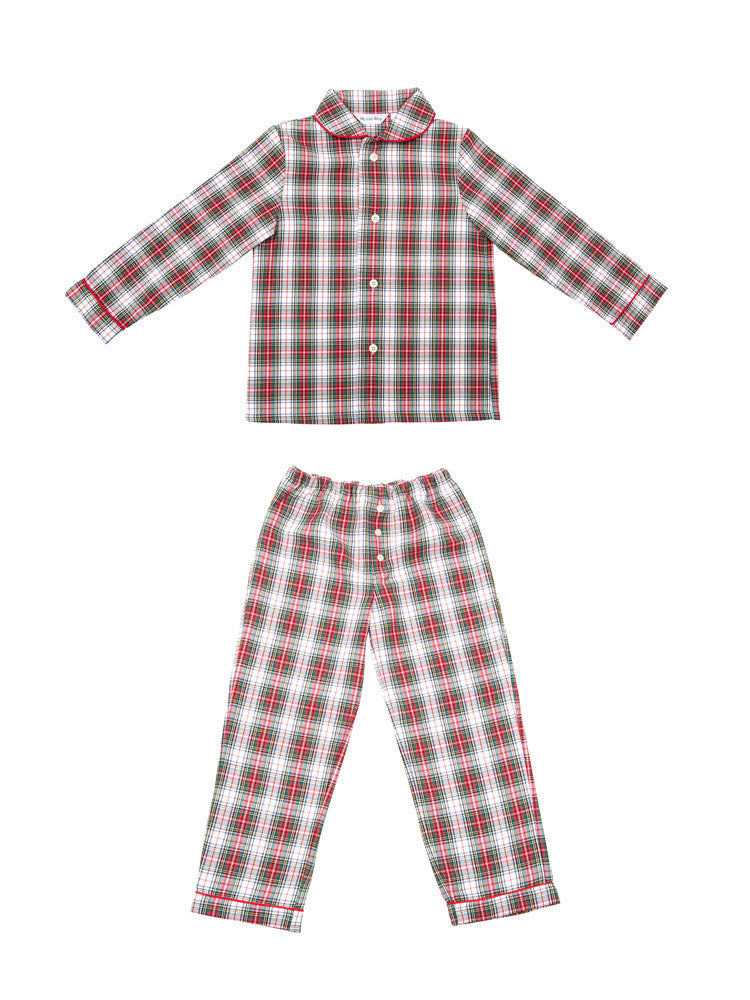 Boys Plaid Pyjama