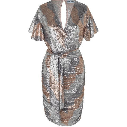 CHLOE DRESS - Champagne