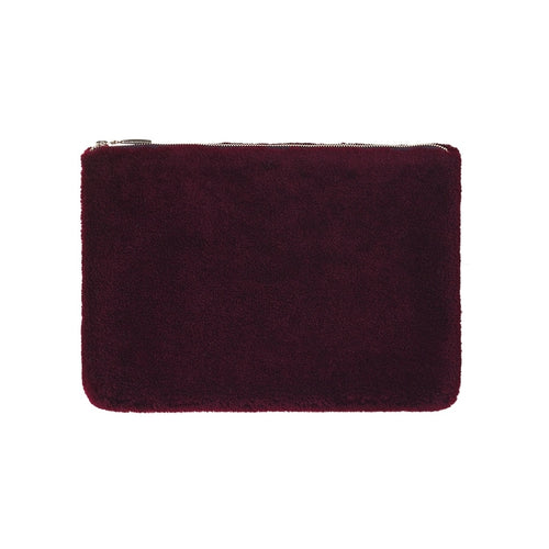 RAVN FUR Teddy Ipad  008 Bordeaux