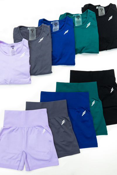 Flat lay image of Doyoueven Hyperflex Shorts and Long Sleeves