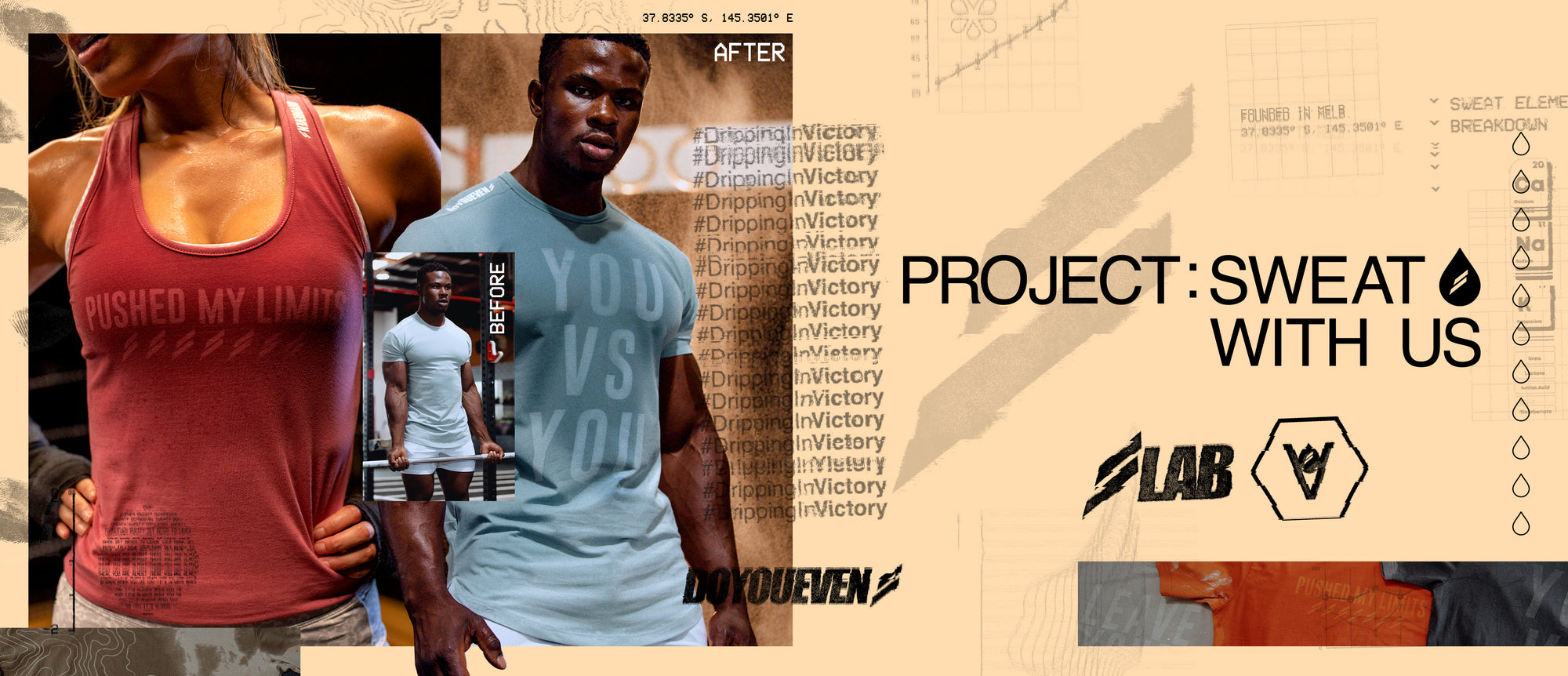 PROJECT: SWEAT  WITH  US