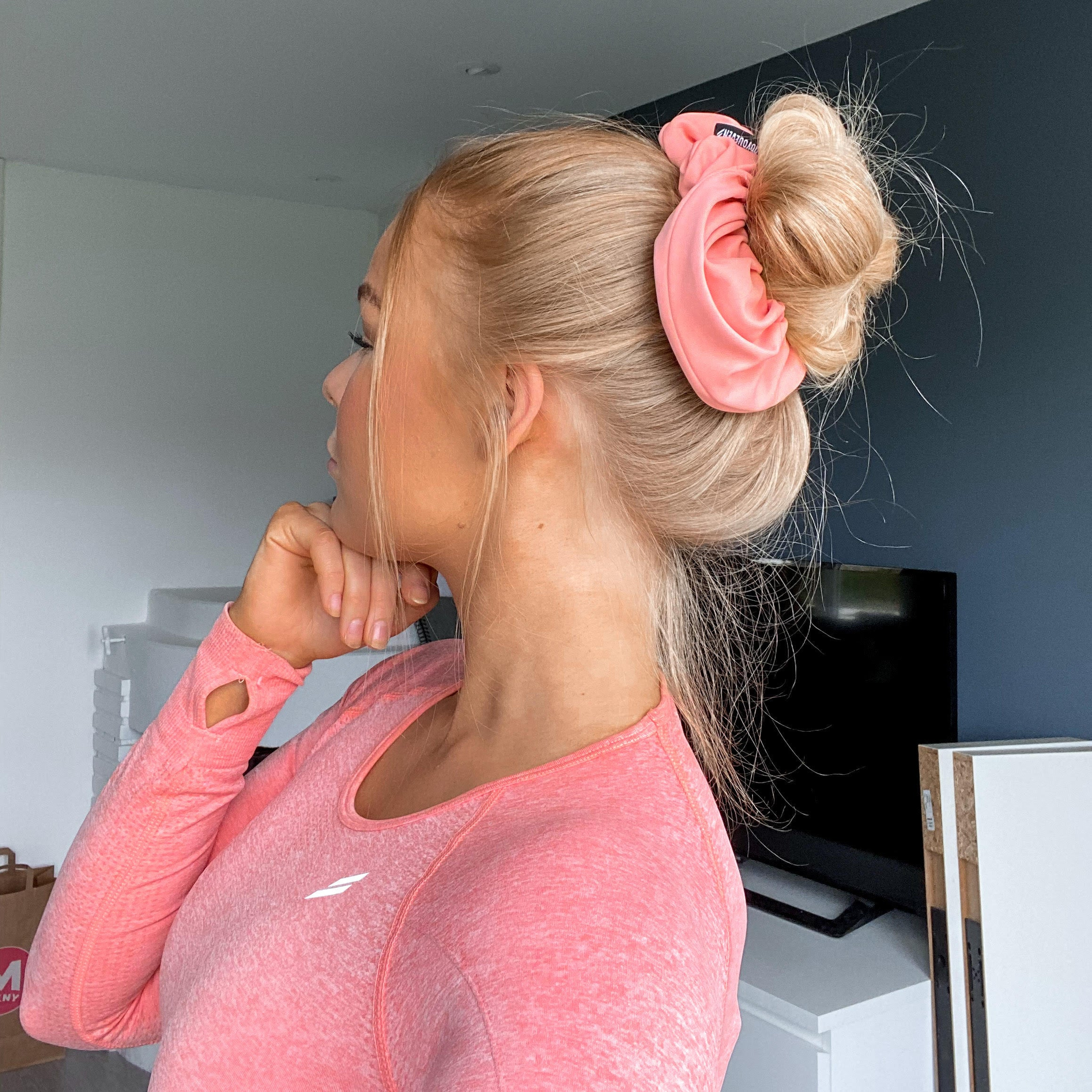 Active Scrunchie Hairstyle Doyoueven