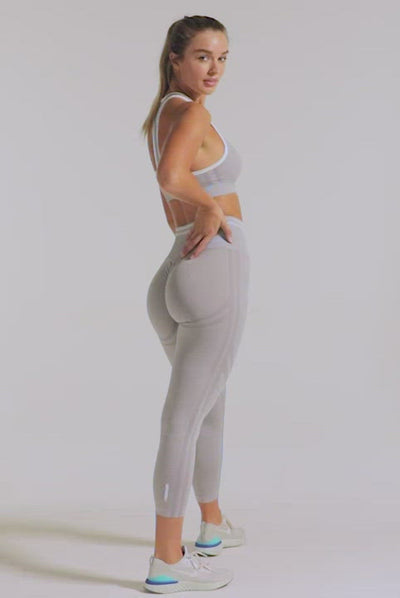 DYE Scrunch Seamless Leggings - Sunny Yellow