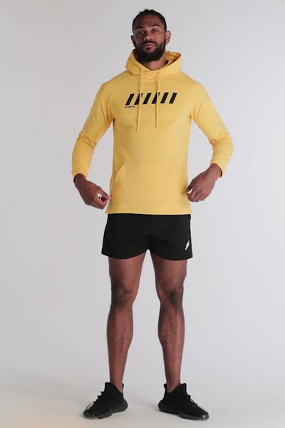 Supercharge Athletic Hoodie - Yellow