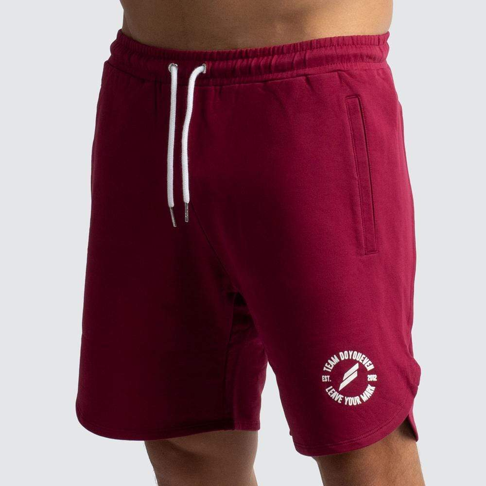 Elite Shorts - Burgundy