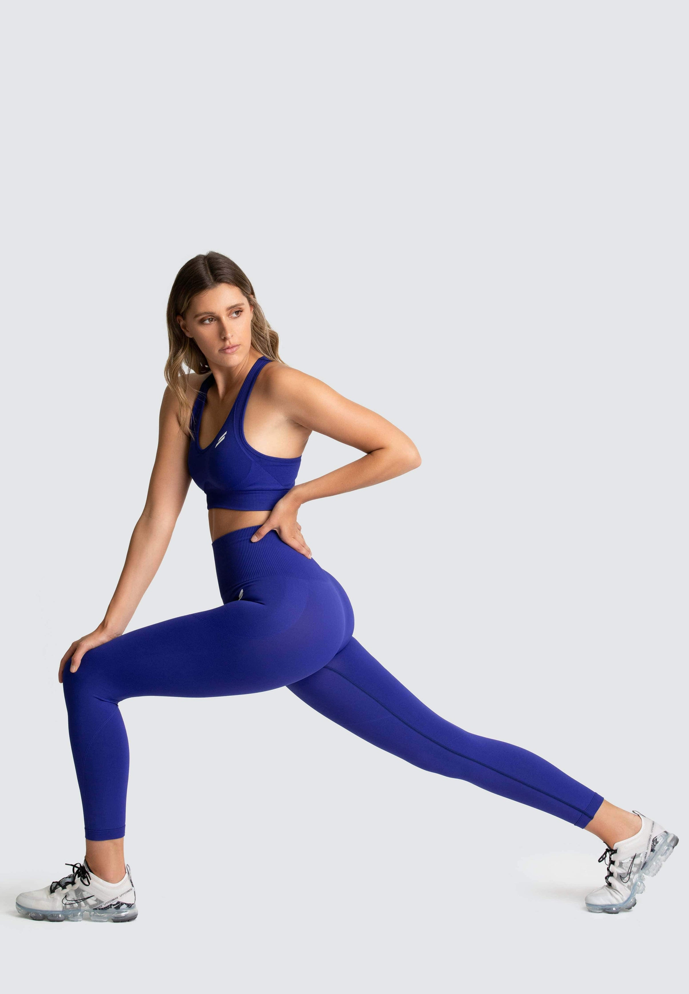Hyperflex Seamless Leggings - Electric Blue