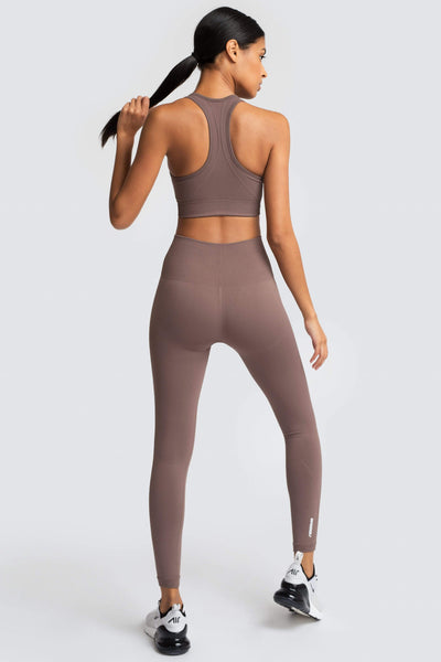 Hyperflex Seamless Leggings - Fawn Brown
