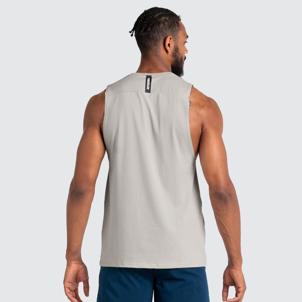 Mark Muscle Tank - Light Taupe