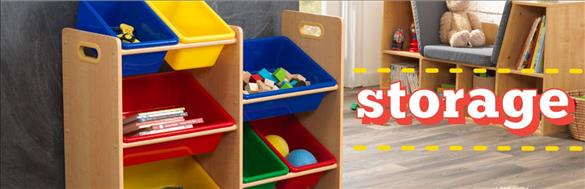Kids Storage and Toy Box