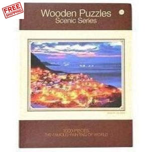 Scenic Jigsaw Puzzle 1000 Piece Adult Kids Basswood