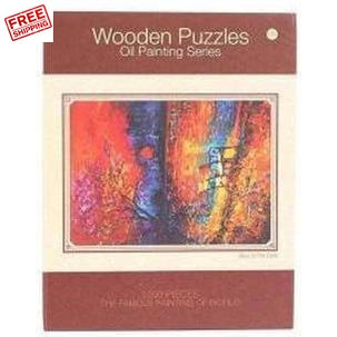 Oil Painting Series Jigsaw Puzzle 1000 Piece Adult Kids Basswood