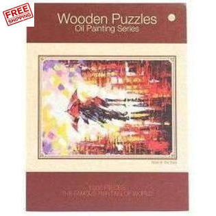 Oil Painting Jigsaw Puzzle 1000 Piece Adult Kids Basswood