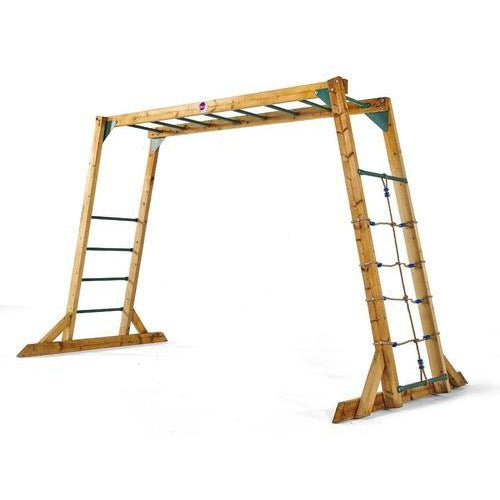 Plum Wooden Monkey Bars Outdoor Play Equipment