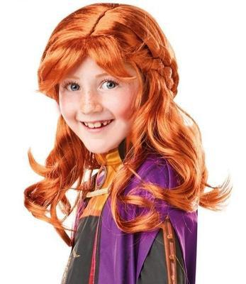 Buy Anna Frozen 2 Wig Child at Kids Mega Mart for Australia Delivery
