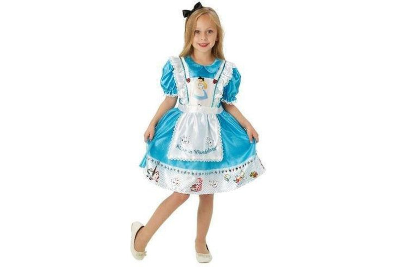 Alice In Wonderland Deluxe Costume Child