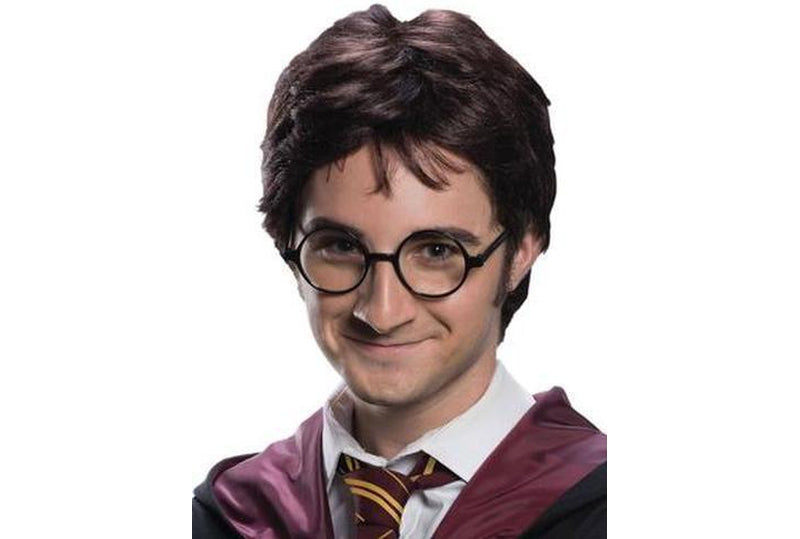 Harry Potter Wig And Tattoo Kit Adult