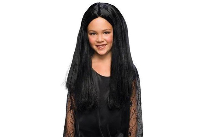The Addam's Family Morticia Wig Child Australia Delivery
