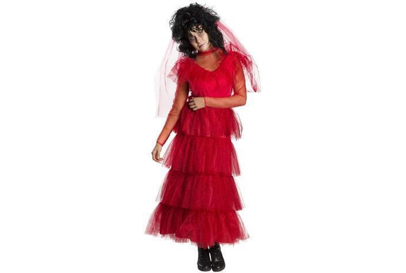 Lydia Deetz Wedding Dress Costume Adult