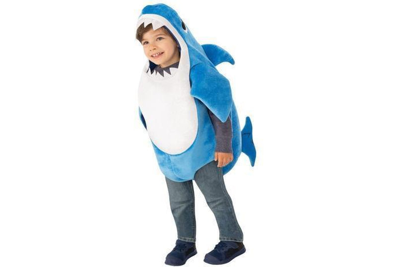 Buy Daddy Shark Deluxe Blue Costume Australia Delivery