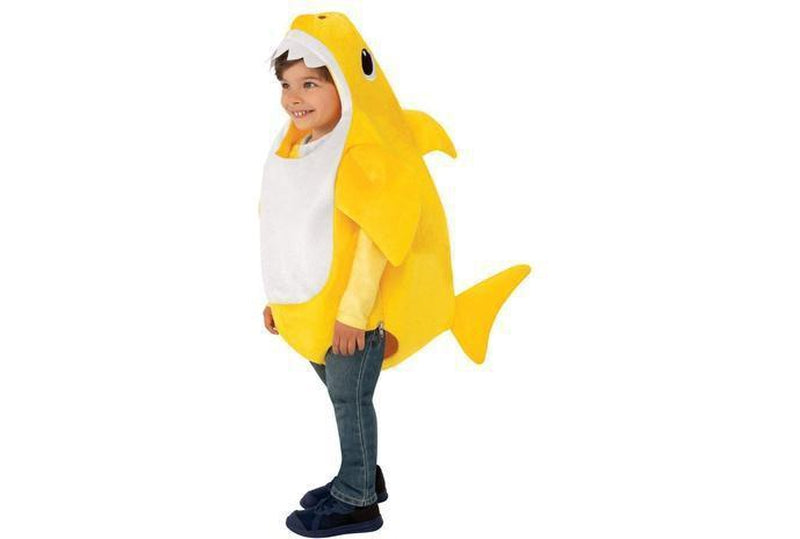 Baby Shark Deluxe Yellow Costume Australia Delivery
