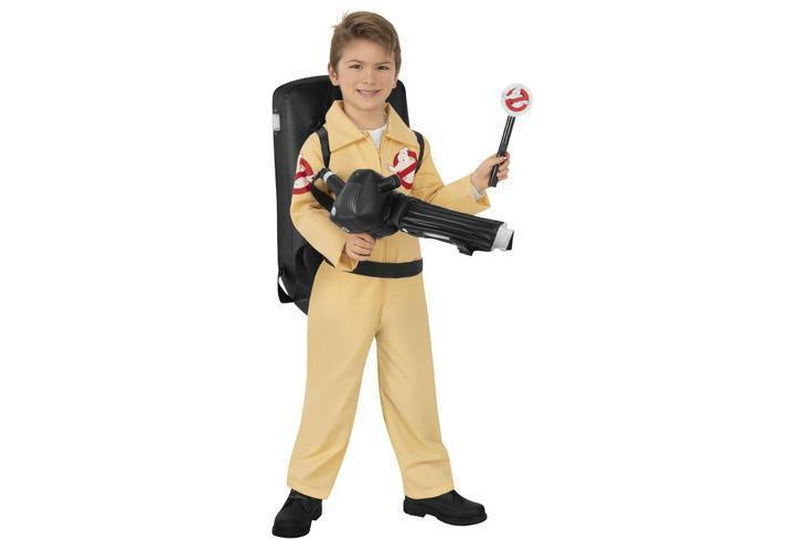 Ghostbusters Costume With Light Child
