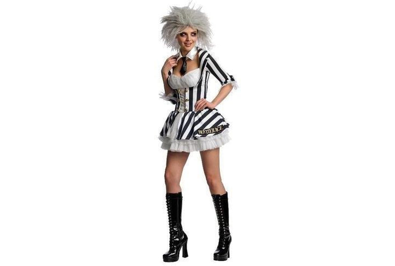 Buy Beetlejuice Secret Wishes Costume Adult Australia