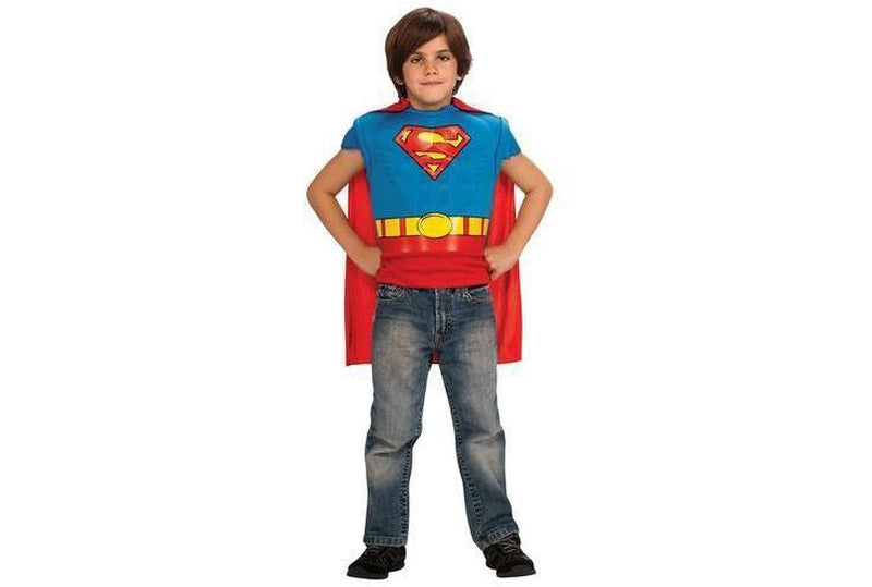 Superman Muscle Chest Costume Top Child Australia Delivery