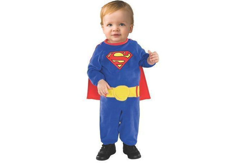 Superman Costume Child Newborn Baby Size 0-6 Months Australia