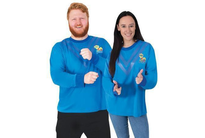 Anthony Blue Wiggles Costumes for Adults Australia