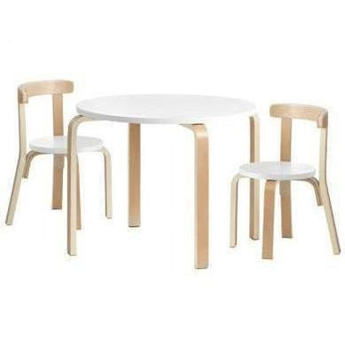 Keezi Kids Round Table and Chair Set Wooden