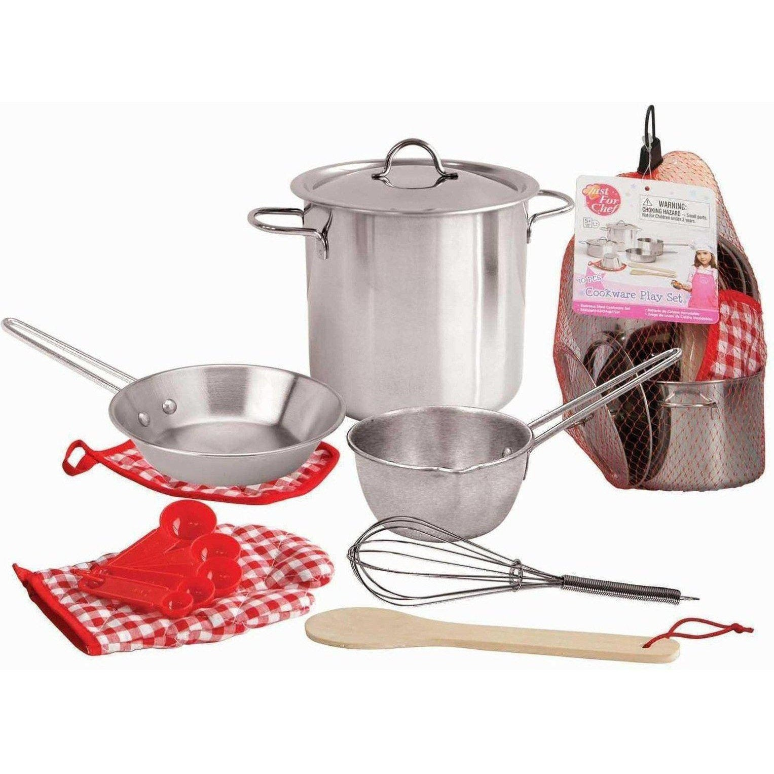 Toy Stainless Steel Cooking Play Set, Shop Now for Australia Delivery at Kids Mega Mart