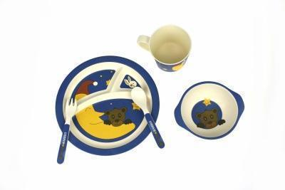 Bamboozoo Dinnerware Bear Rabbit