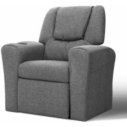 Furniture Artiss Kids Recliner Chair Grey