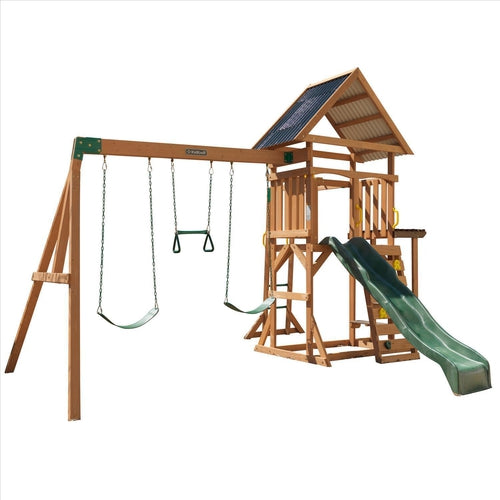 Lawn Meadow Swing Set Outdoor Play Set