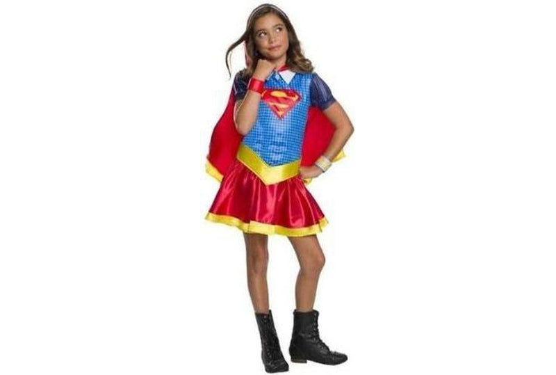 Licensed Supergirl Costume dress with Cape Child Australia Delivery