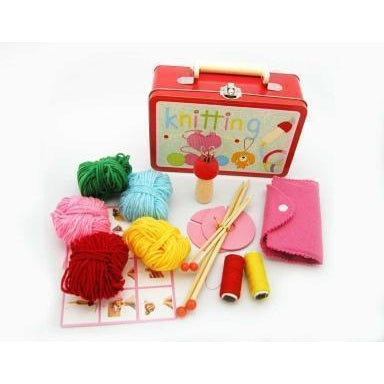 Buy Knitting Kit Craft in Tin Case | Australia Delivery