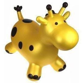 Bouncy Rider Gold Giraffe Toy for Kids