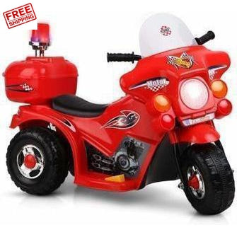 Outdoor Toys Rigo Kids Ride On Motorbike Motorcycle Car Red