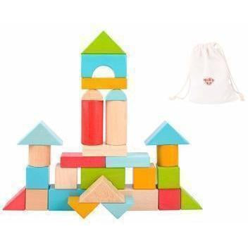 Toy Jumbo Colour Wooden Blocks 28 Pieces Australia Delivery