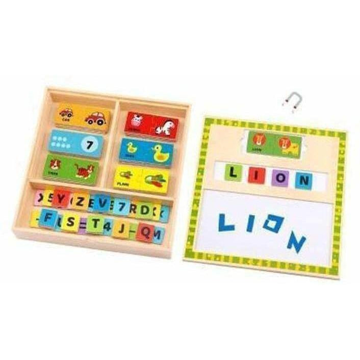 Magnetic Learning Puzzle Box
