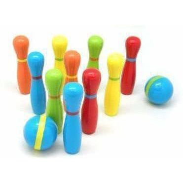 Kids Toy Ten pin Bowling Set Wooden Australia Delivery