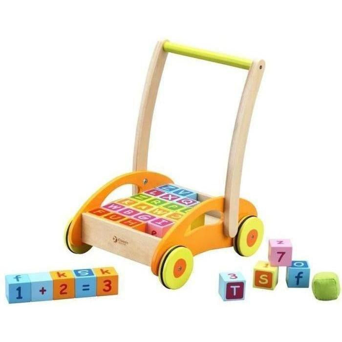 Classic World Baby Walker With Blocks