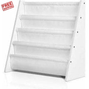 Furniture Keezi Kids Bookshelf - White
