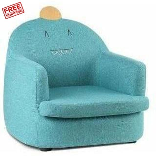 Furniture Keezi Kids Fabric Armchair Couch Dinosaur Chair Green