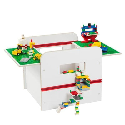 Furniture Room 2 Build Kids Toy Box with Building Brick Display