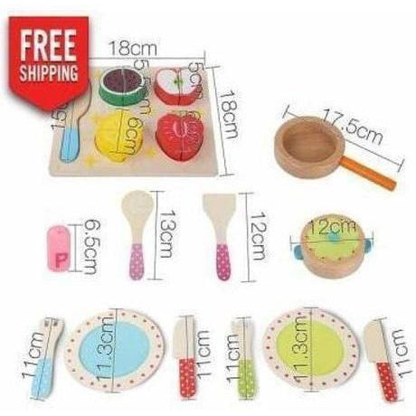 Keezi 29 Piece Kids Food Play Set