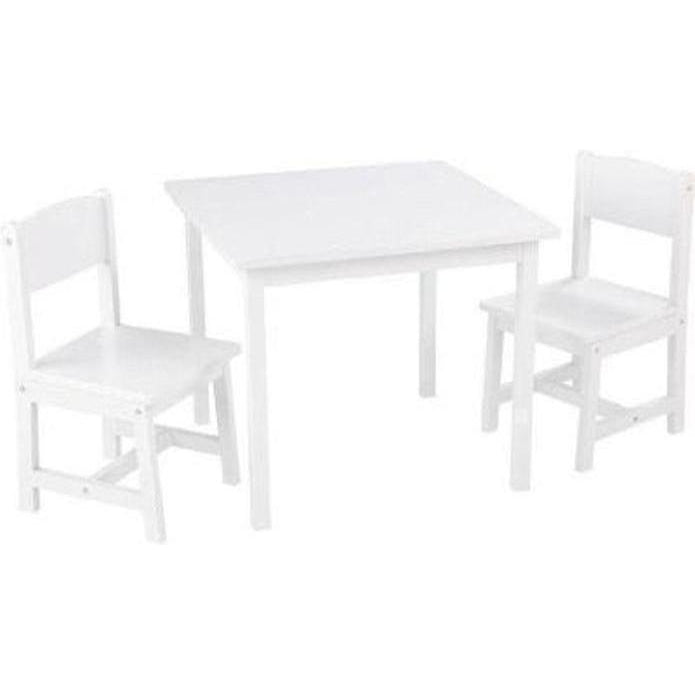Kidkraft Aspen White Table and  2 Chair Set