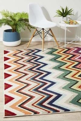 MODERN Gemini Modern 504 Multi Coloured Rug