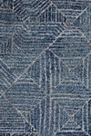 Oasis Kenza Contemporary Navy Round Floor  Rug