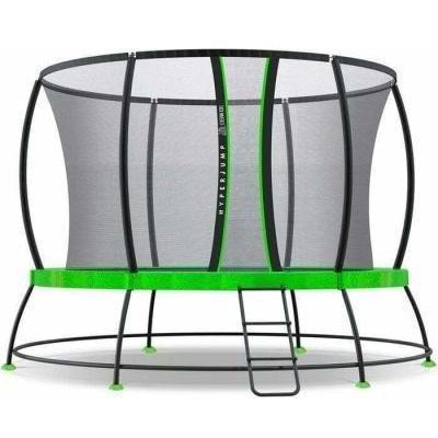 Outdoor Toys 12ft Hyperjump3 Spring Trampoline Set
